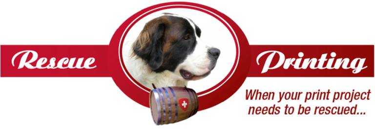 Rescue Printing logo